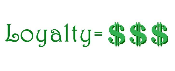 Loyalty = $$$
