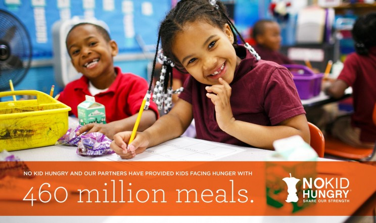 Share Our Strength No Kid Hungry Campaign