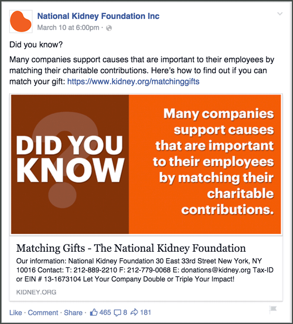 matching gifts the nonprofit s guide to raising more money