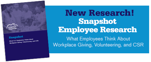 Snapshot Employee Research: What US Employees Think about Workplace Giving, Volunteering, and CSR