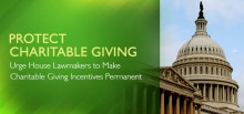 Protect Charitable Giving Incentives in the Tax Code