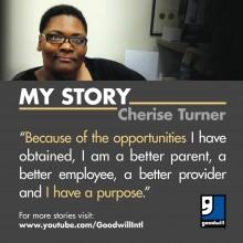 Cherise Turner's story - Goodwill