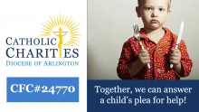 How Catholic Charities of the Diocese of Arlington is helping people recognize their abilities, develop self-sufficiency, and maintain dignity