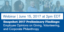 Snapshot 2017 preliminary findings webinar