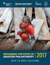 Measuring the State of Disaster Philanthropy report.