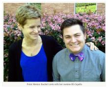Mentor Pair Highlight: Rachel Levin & Eli Capello
