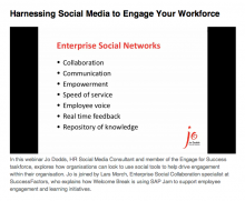 Harnessing Social Media to Engage Your Workforce