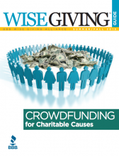 Crowdfunding for Charitable Causes: Advice from BBB Wise Giving Alliance