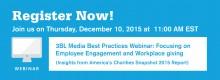 Snapshot 2015 3BL Media Webinar