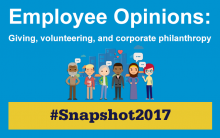 Snapshot 2017 Employee Giving and Engagement