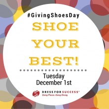 Giving Tuesday Shoe Your Best!