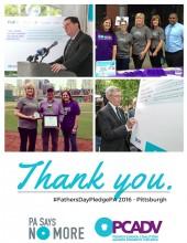 PCADV #FathersDayPledgePA Photos