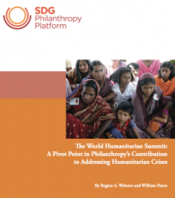 World Humanitarian Summit Report
