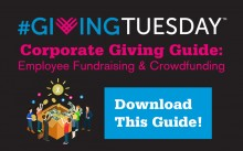 Giving Tuesday Corporate Crowdfunding Guide