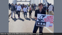 Deborah at 50th Anniversary of Selma March