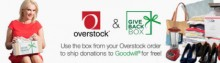 "Overstock.com ""Close the Loop"" on Clothing Donations with Online Bin Benefiting  Goodwill"