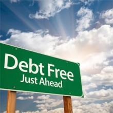 Debt Free Just Ahead