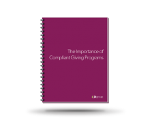 The Importance of Compliant Giving Programs