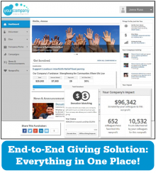 Employee giving solution - strategy to implementation