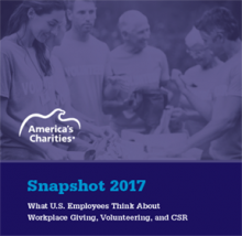America's Charities Snapshot Employee Donor Research