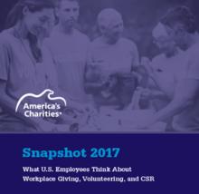 America's Charities Snapshot Employee Donor Research