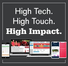High tech. High touch. High impact. Employee Giving Solutions